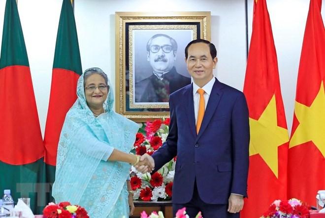 President Tran Dai Quang concludes India, Bangladesh visits, Government news, Vietnam breaking news, politic news, vietnamnet bridge, english news, Vietnam news, news Vietnam, vietnamnet news, Vietnam net news, Vietnam latest news, vn news