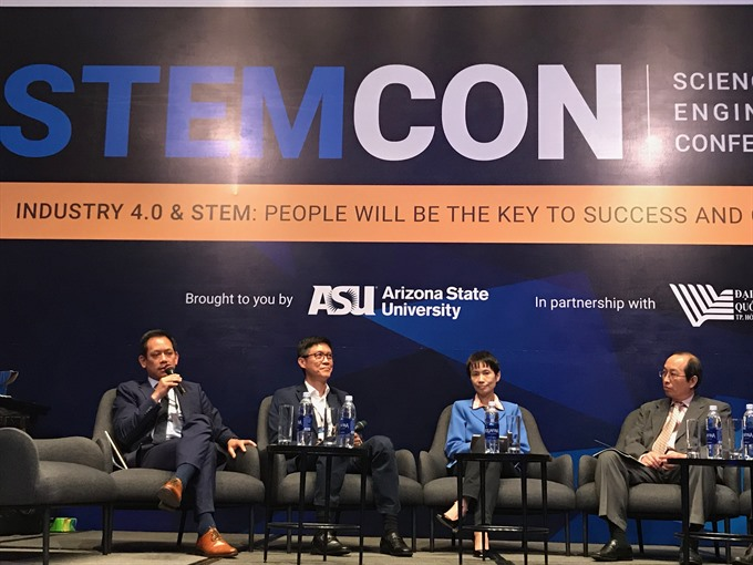 Conference calls for collaborative effort to train students for Industry 4.0, Vietnam education, Vietnam higher education, Vietnam vocational training, Vietnam students, Vietnam children, Vietnam education reform, vietnamnet bridge, english news, Vietnam