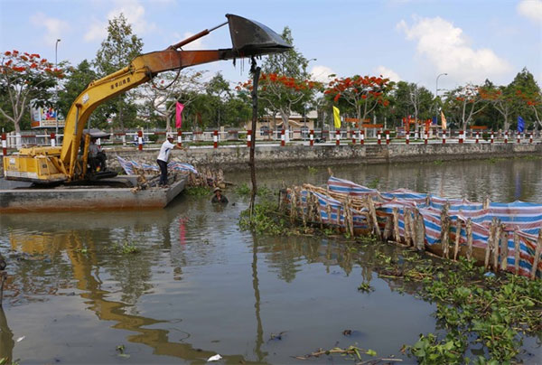 Mekong Delta, salt intrusion, prevent saltwater intrusion, Vietnam economy, Vietnamnet bridge, English news about Vietnam, Vietnam news, news about Vietnam, English news, Vietnamnet news, latest news on Vietnam, Vietnam