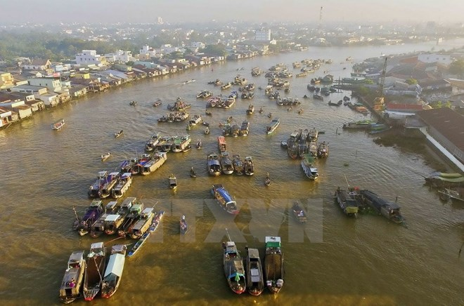 Cai Rang Floating Market to be strong tourism brand of Can Tho, travel news, Vietnam guide, Vietnam airlines, Vietnam tour, tour Vietnam, Hanoi, ho chi minh city, Saigon, travelling to Vietnam, Vietnam travelling, Vietnam travel, vn news