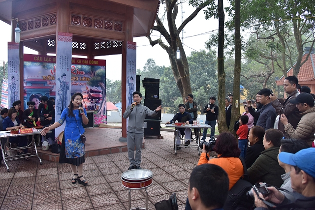 Savouring the beautiful melodies of 'Quan Ho' singing at Lim festival, entertainment events, entertainment news, entertainment activities, what's on, Vietnam culture, Vietnam tradition, vn news, Vietnam beauty, news Vietnam, Vietnam news, Vietnam net news