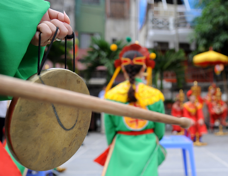 Xiangqi festival at Vua pagoda attracts crowds, entertainment events, entertainment news, entertainment activities, what's on, Vietnam culture, Vietnam tradition, vn news, Vietnam beauty, news Vietnam, Vietnam news, Vietnam net news, vietnamnet news, viet
