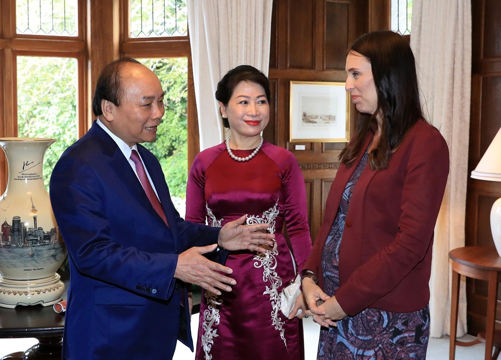 Welcome ceremony, cannon salute for PM Nguyen Xuan Phuc in New Zealand, Government news, Vietnam breaking news, politic news, vietnamnet bridge, english news, Vietnam news, news Vietnam, vietnamnet news, Vietnam net news, Vietnam latest news, vn news