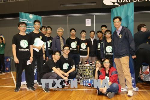 Vietnamese students show creativity in making robots, Vietnam education, Vietnam higher education, Vietnam vocational training, Vietnam students, Vietnam children, Vietnam education reform, vietnamnet bridge, english news, Vietnam news, news Vietnam, viet