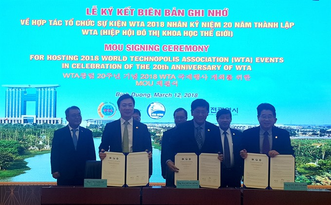 Binh Duong set to host World Technopolis Association assembly, IT news, sci-tech news, vietnamnet bridge, english news, Vietnam news, news Vietnam, vietnamnet news, Vietnam net news, Vietnam latest news, Vietnam breaking news, vn news