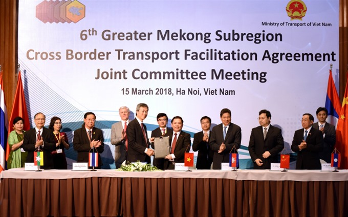 Greater Mekong Subregion countries to boost transportation connectivity, social news, vietnamnet bridge, english news, Vietnam news, news Vietnam, vietnamnet news, Vietnam net news, Vietnam latest news, vn news, Vietnam breaking news