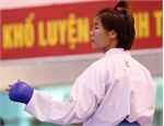 Ngoan, Anh fight in Karate 1 event