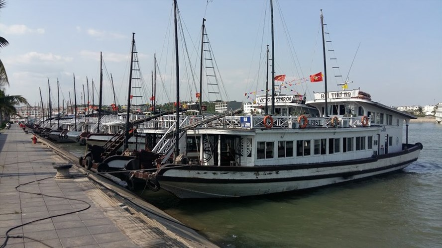 Dispute over port design leads to boats sinking at Ha Long, social news, vietnamnet bridge, english news, Vietnam news, news Vietnam, vietnamnet news, Vietnam net news, Vietnam latest news, vn news, Vietnam breaking news