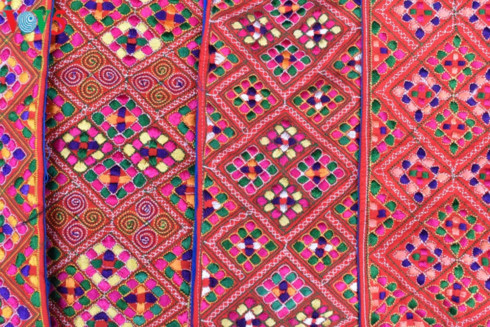 mong textile patterns recognized as intangible cultural heritage