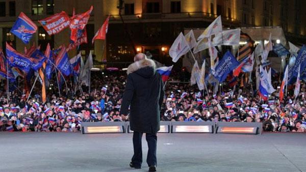 Russia election:, Vladimir Putin, win