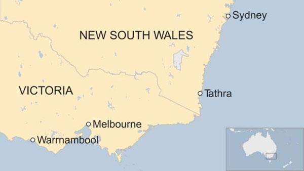 Australia bushfire, Tathra, dozens of buildings, feared lost