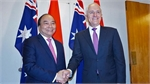PM's visits create milestones in ties with New Zealand, Australia