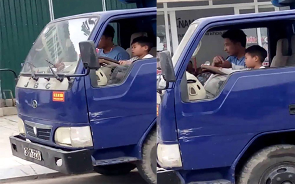 Man faces fine for letting 10-year-old drive truck, social news, vietnamnet bridge, english news, Vietnam news, news Vietnam, vietnamnet news, Vietnam net news, Vietnam latest news, vn news, Vietnam breaking news