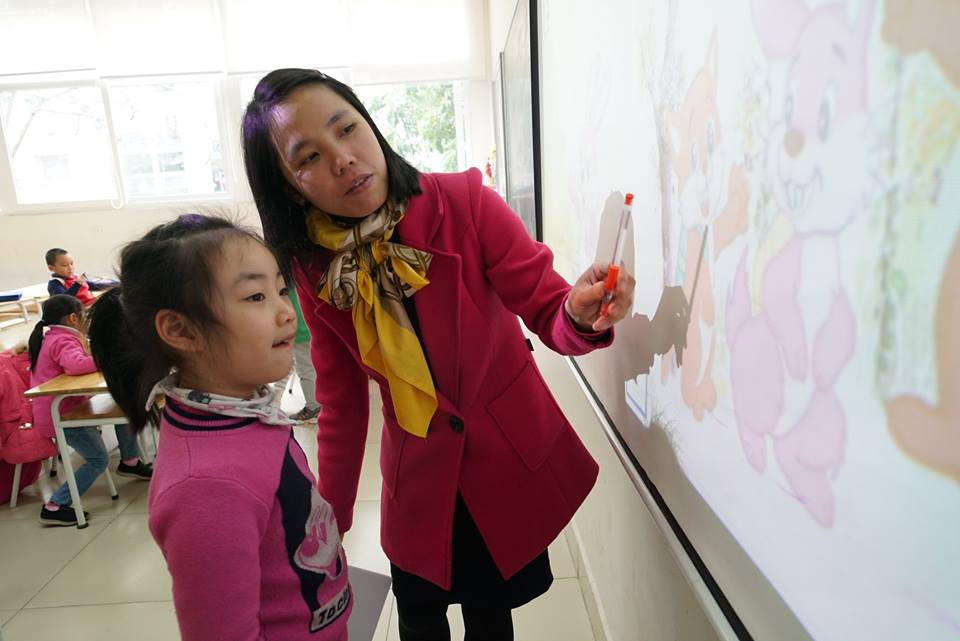 Parents send children to pre-school classes
