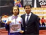 Vietnam wins bronze at Karate 1-Premier League
