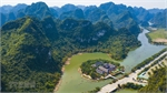 Amazing aerial views of Trang An Tourism Complex