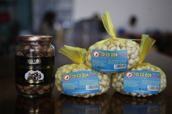 Ly Son Island garlic brand violated by fraudsters - News