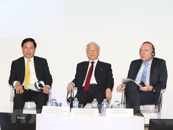 Party chief expects French enterprises to succeed in Vietnam, Government news, Vietnam breaking news, politic news, vietnamnet bridge, english news, Vietnam news, news Vietnam, vietnamnet news, Vietnam net news, Vietnam latest news, vn news