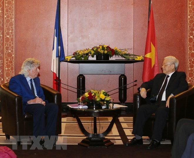 New chapter opened for the Vietnam-France relationship, government news, Vietnam breaking news, political news, Vietnam Bridge, news in English, Vietnam news, Vietnam news, Vietnam news, Vietnam news, latest news from Vietnam, vn news