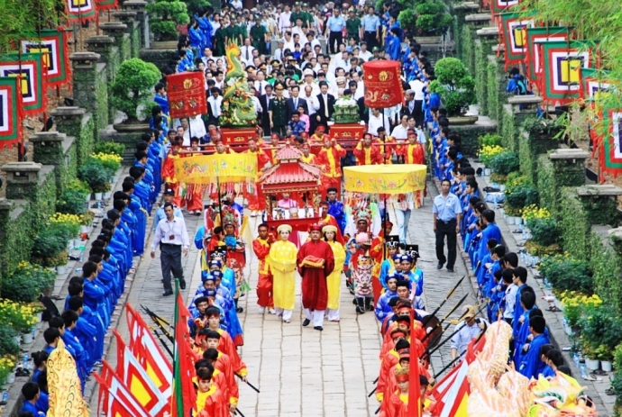 Hung Kings Temple Festival to begin April 21, entertainment events, entertainment news, entertainment activities, what's on, Vietnam culture, Vietnam tradition, vn news, Vietnam beauty, news Vietnam, Vietnam news, Vietnam net news, vietnamnet news, vietna