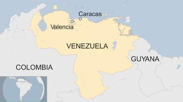 Venezuela, Carabobo police station cells, fire
