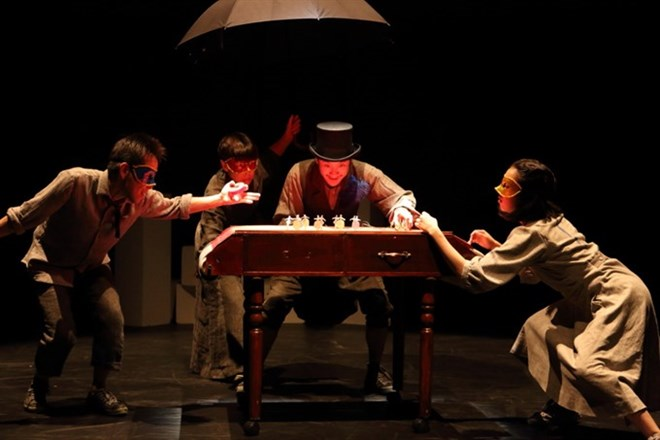 Japanese, Vietnamese mimes come to Hanoi, entertainment events, entertainment news, entertainment activities, what's on, Vietnam culture, Vietnam tradition, vn news, Vietnam beauty, news Vietnam, Vietnam news, Vietnam net news, vietnamnet news, vietnamnet