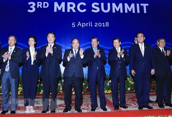 Prime Minister Nguyen Xuan Phuc attends third MRC Summit, Government news, Vietnam breaking news, politic news, vietnamnet bridge, english news, Vietnam news, news Vietnam, vietnamnet news, Vietnam net news, Vietnam latest news, vn news