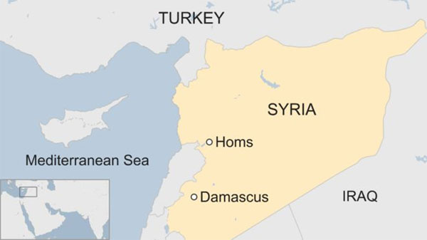 Syria conflict, strikes, Syrian airfield, chemical attack