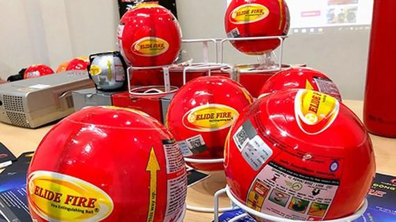 New convenient firefighting balls introduced, IT news, sci-tech news, vietnamnet bridge, english news, Vietnam news, news Vietnam, vietnamnet news, Vietnam net news, Vietnam latest news, Vietnam breaking news, vn news