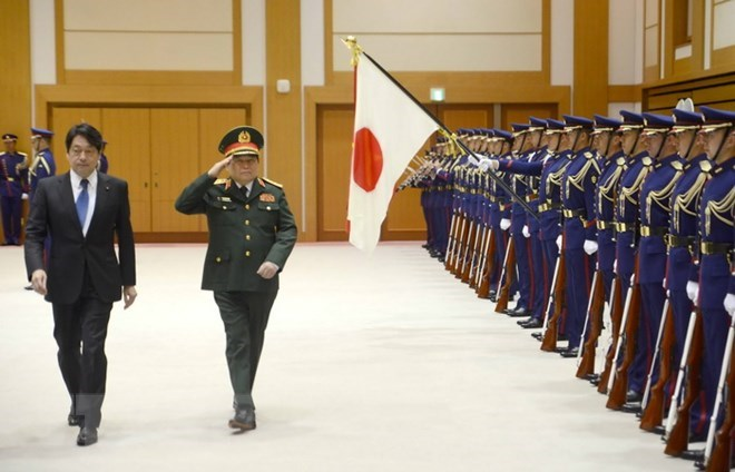 Vietnamese, Japanese defence ministers hold talks, Government news, Vietnam breaking news, politic news, vietnamnet bridge, english news, Vietnam news, news Vietnam, vietnamnet news, Vietnam net news, Vietnam latest news, vn news