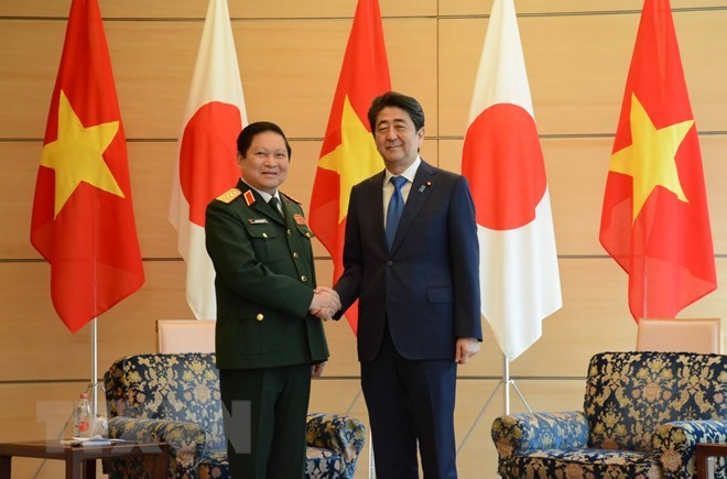 Japan treasures ties with Vietnam: Prime Minister Abe, Government news, Vietnam breaking news, politic news, vietnamnet bridge, english news, Vietnam news, news Vietnam, vietnamnet news, Vietnam net news, Vietnam latest news, vn news