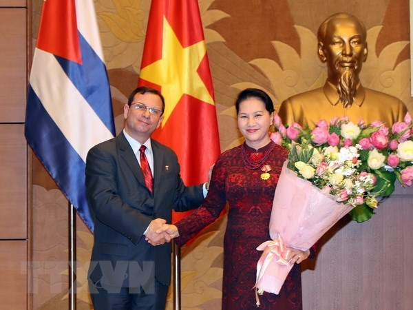 NA Chairwoman honoured with Cuba's Solidarity Order, Government news, Vietnam breaking news, politic news, vietnamnet bridge, english news, Vietnam news, news Vietnam, vietnamnet news, Vietnam net news, Vietnam latest news, vn news