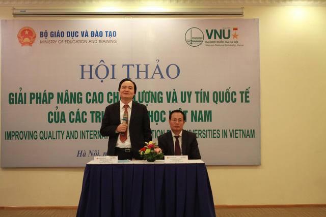 Conference discusses poor regional rankings for Vietnamese universities, Vietnam education, Vietnam higher education, Vietnam vocational training, Vietnam students, Vietnam children, Vietnam education reform, vietnamnet bridge, english news, Vietnam news,