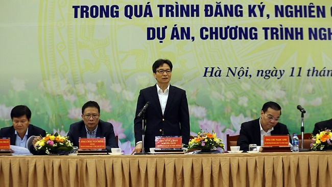 Dialogue held to remove difficulties for scientists, IT news, sci-tech news, vietnamnet bridge, english news, Vietnam news, news Vietnam, vietnamnet news, Vietnam net news, Vietnam latest news, Vietnam breaking news, vn news