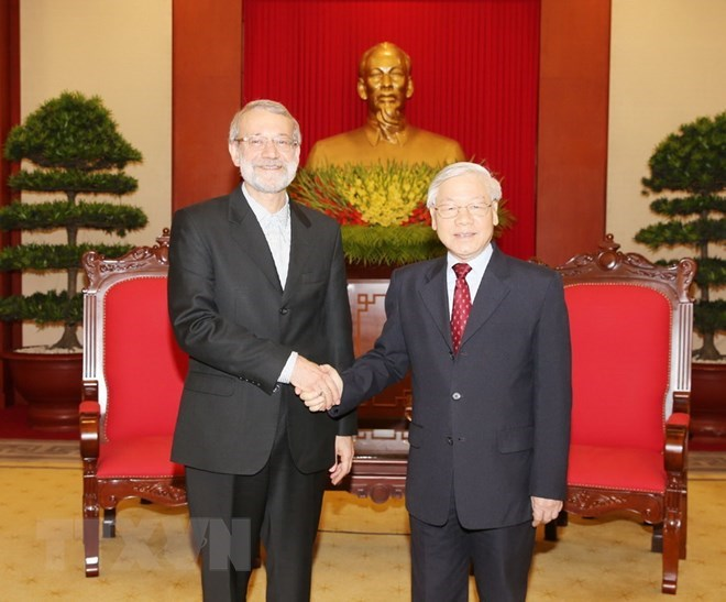 NA Chairwoman welcomes Iranian Parliament Speaker's visit, Vietnam wants to bolster traditional ties with Iran: Party Chief, Iran looks to foster comprehensive partnership with Vietnam, VFF pledges to contribute to Vietnam-Iran relations