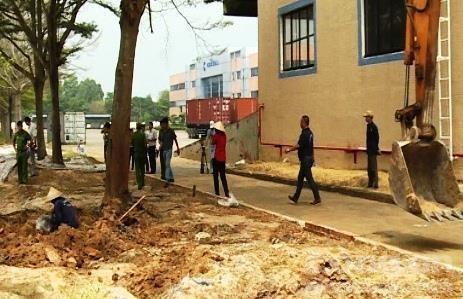 Dong Nai: 1,600 tonnes of hazardous waste illegally buried