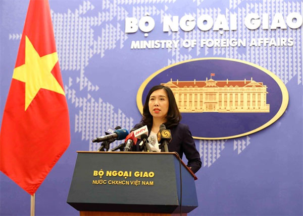 Unilateral actions in Vietnam's sea territories are invalid and illegal: Foreign Ministry