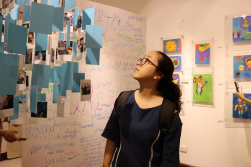 IU.IU.IU Exhibit- Life through the eyes of artists with autism