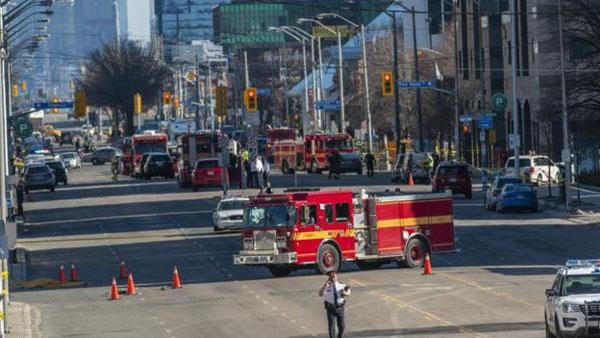 Canada, Toronto van attack, pedestrians killed