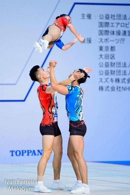 Vietnam grab gold at aerobics World Cup