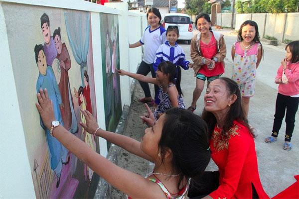 Ha Tinh, 'Tale of Kieu', village walls, Vietnam economy, Vietnamnet bridge, English news about Vietnam, Vietnam news, news about Vietnam, English news, Vietnamnet news, latest news on Vietnam, Vietnam