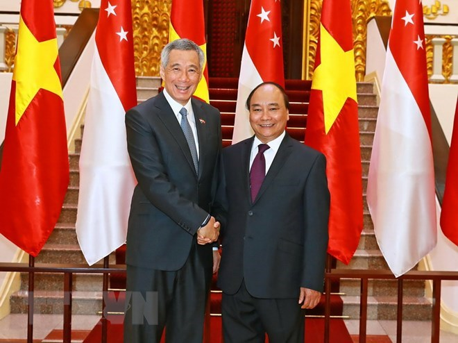 PM's visit hoped to further bolster Vietnam-Singapore ties