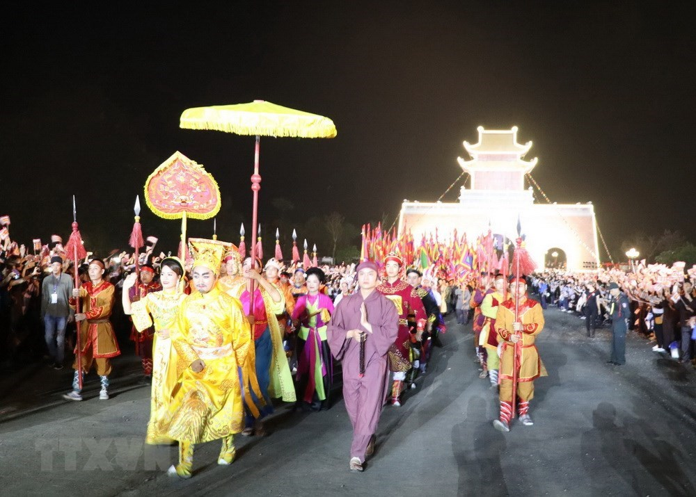Heaven worship ritual of Vietnam's first feudal state re-enacted, entertainment events, entertainment news, entertainment activities, what's on, Vietnam culture, Vietnam tradition, vn news, Vietnam beauty, news Vietnam, Vietnam news, Vietnam net news