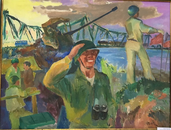 Wartime paintings, paintings and sketches by soldier, Vietnam economy, Vietnamnet bridge, English news about Vietnam, Vietnam news, news about Vietnam, English news, Vietnamnet news, latest news on Vietnam, Vietnam