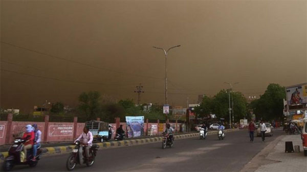 India, dust storms