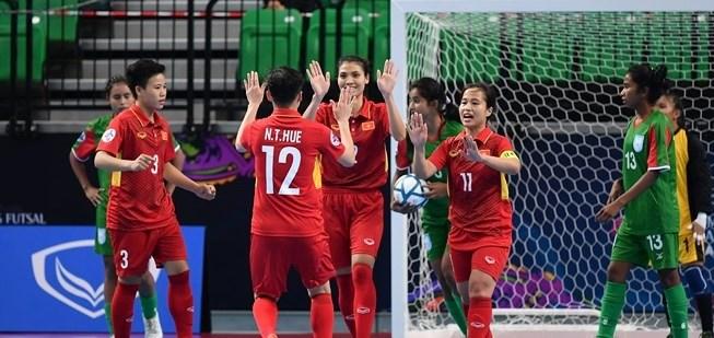 Vietnam beat Bangladesh at AFC women's futsal event, Sports news, football, Vietnam sports, vietnamnet bridge, english news, Vietnam news, news Vietnam, vietnamnet news, Vietnam net news, Vietnam latest news, vn news, Vietnam breaking news