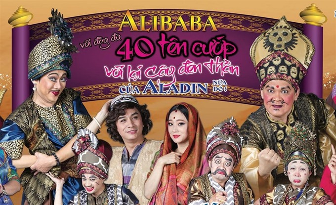 Drama troupe brings Ali Baba to HCM City stage, entertainment events, entertainment news, entertainment activities, what's on, Vietnam culture, Vietnam tradition, vn news, Vietnam beauty, news Vietnam, Vietnam news, Vietnam net news, vietnamnet news, viet