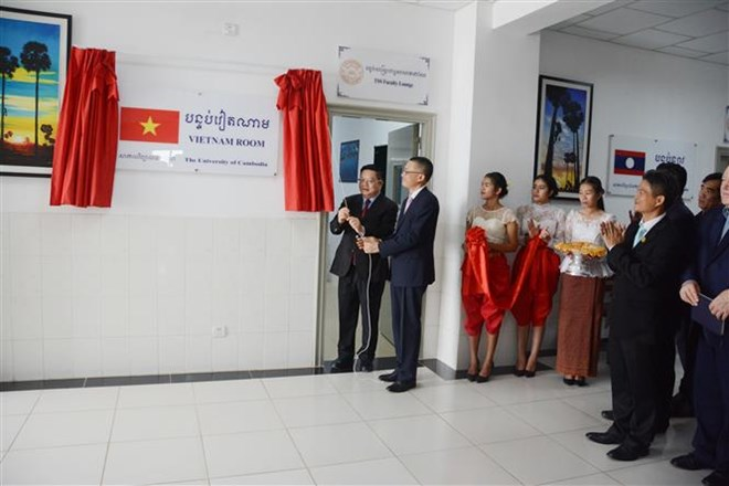 Vietnam Room at University of Cambodia inaugurated, Vietnam education, Vietnam higher education, Vietnam vocational training, Vietnam students, Vietnam children, Vietnam education reform, vietnamnet bridge, english news, Vietnam news, news Vietnam,