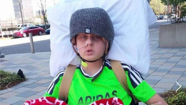 US state of Alabama, Alabama 'miracle' boy, donate organs