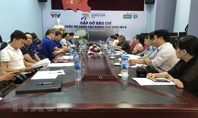Teams get ready for 2018 Vietnam Robocon's final round, IT news, sci-tech news, vietnamnet bridge, english news, Vietnam news, news Vietnam, vietnamnet news, Vietnam net news, Vietnam latest news, Vietnam breaking news, vn news